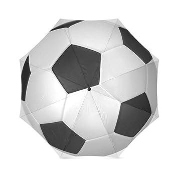 lalkio Regalos personalizados con balón de fútbol Fútbol paraguas ...