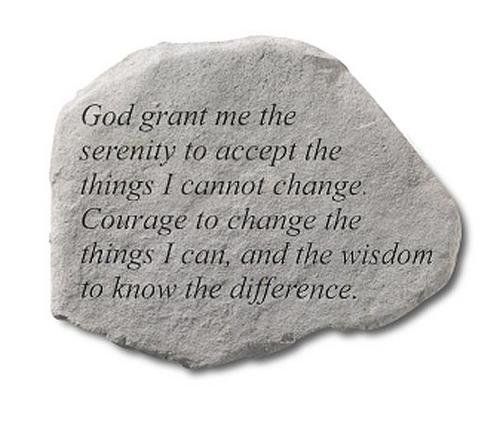 Kay Berry Inc God Grant me The Serenity..., Multi Color (Garden Serenity Stone)