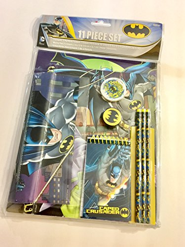 Batman Gorthic Knight 11 Piece Value Pack School Supply Stationary ()