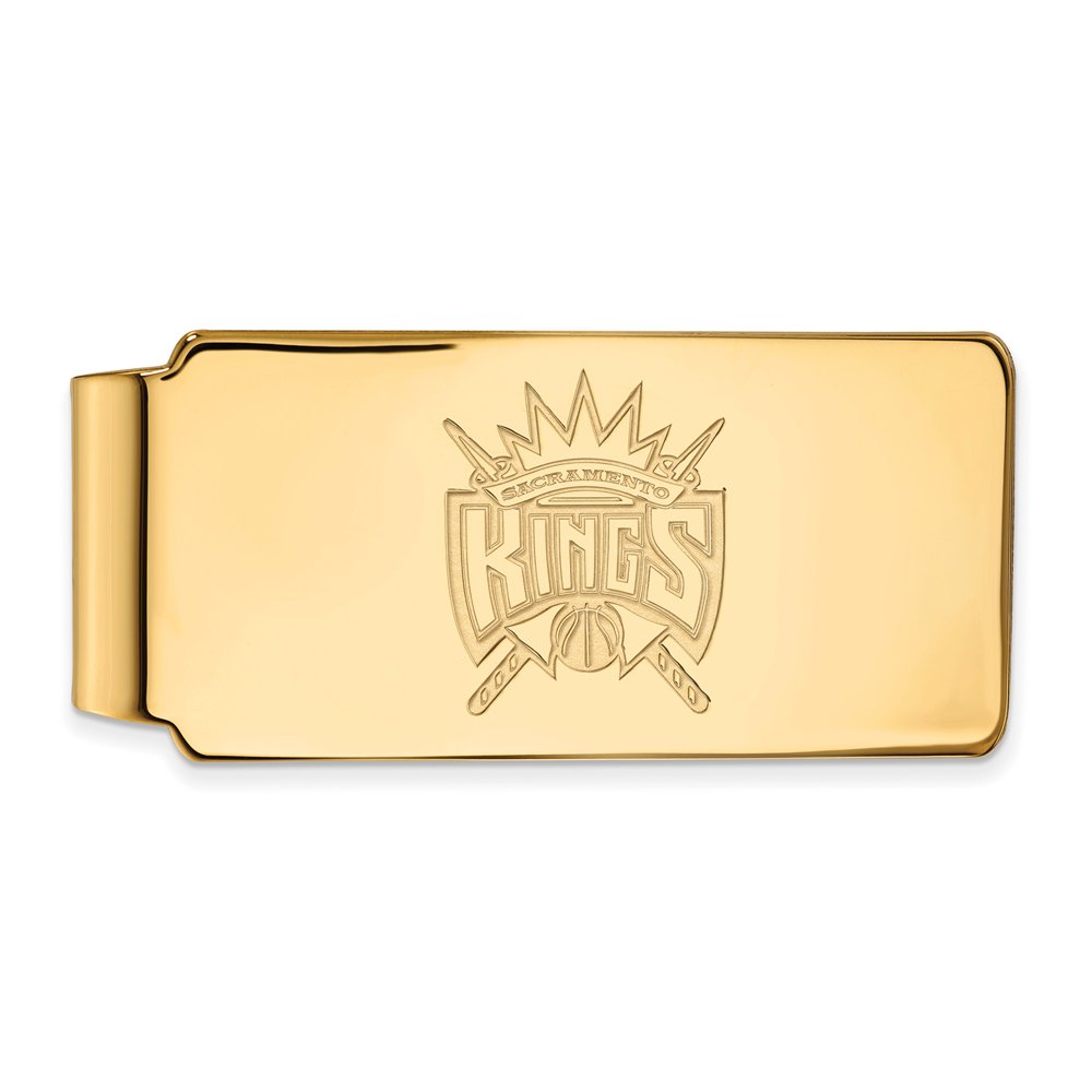 NBA Sacramento Kings Money Clip in 10K Yellow Gold