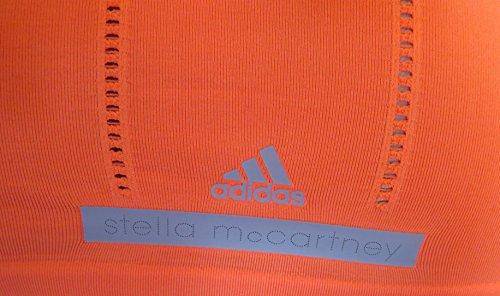 adidas X44634 Damen Gymnastiktop Shirt, orange, EU M