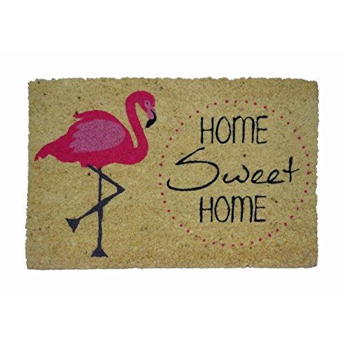 koko doormats Zerbino Flamingo, PVC, Cocco, 40 x 60 cm