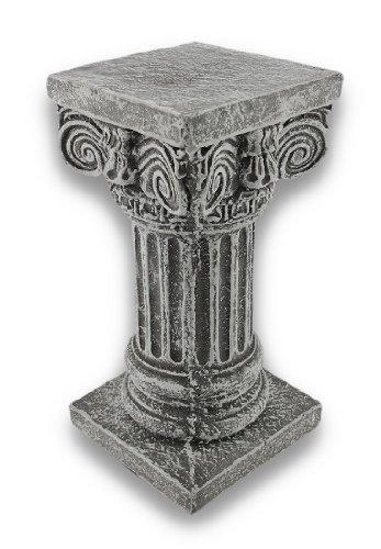 Things2Die4 Solid Concrete Roman Pillar Mini Statue Pedestal