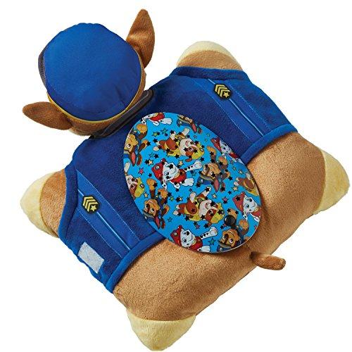 Pillow Pets Nickelodeon Paw Patrol Sleeptime Lites – Chase Plush Night Light