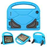 All New F i r e 7 2017/2015 Case - Roasan Lightweight Shockproof Handle Kid –Proof Cover Kids Case for F i r e 7 Tablet (7th Gen & 5th Gen Release,Blue)