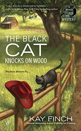 The Black Cat Knocks on Wood (A Bad Luck Cat Mystery Book 2) -