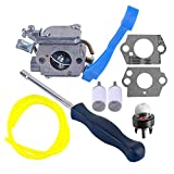 Savior Carburetor with Adjustment Tool Kit Screwdriver Primer Bulb for Husqvarna 125B 125BX 125BVX ZAMA C1Q-W37 545081811