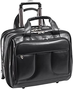 McKlein USA Chelsea Leather 15.6-in Laptop & Tablet Rolling Case