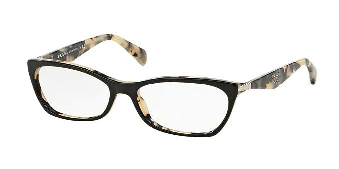 3277127a20ce8 Prada PR15PV Swing Glasses in Havana PR 15PV 2AU1O1 53  Amazon.ca  Clothing    Accessories