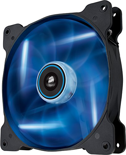 Corsair Air Series SP 140 LED Blue High Static Pressure Fan Cooling - single pack (Series Blues Lighting)