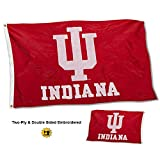 College Flags and Banners Co. Indiana Hoosiers Double Sided Nylon Embroidered Flag Review