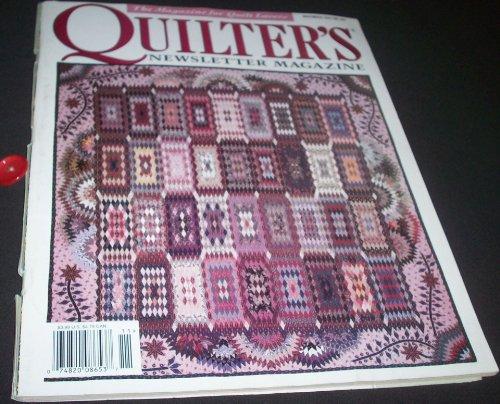 Quilter's Newsletter Magazine November 1997 No.297
