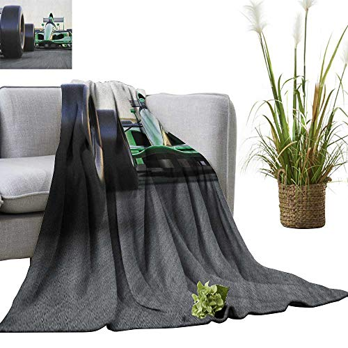 Superlucky Cars Weave Pattern Extra Long Blanket Sports, used for sale  Delivered anywhere in USA