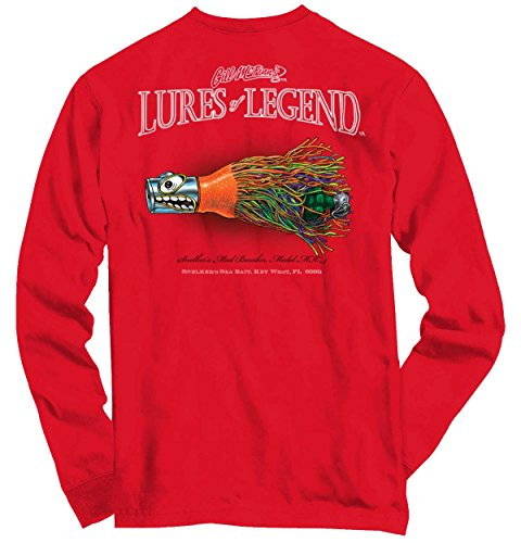 Gill McFinn Bass Fishing Lure Shirt | Trout Outdoor Gear Cool Long Sleeve (Lure T-shirt)