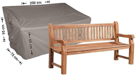 Raffles Covers NW-RTGB200 - Funda para Banco de jardín de 200 x 75 x 95/65 cm, Cubierta para Banco de jardín, Cubierta Exterior para Banco de Patio: Amazon.es: Jardín