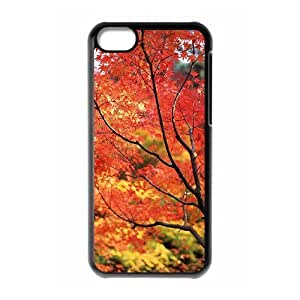 Protection Cover Hard Case Of Maple Cell phone Case For Iphone 5C