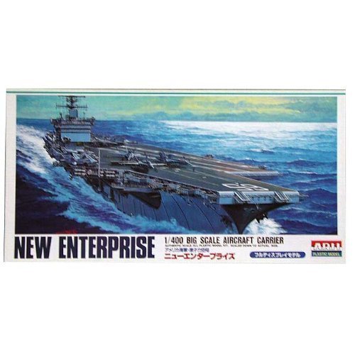 USS Aircraft Carrier New Enterprise (CVN-65) (Plastic model) Micro Ace(Arii) 1/400 Big Scale Battle Ship by Micro Ace
