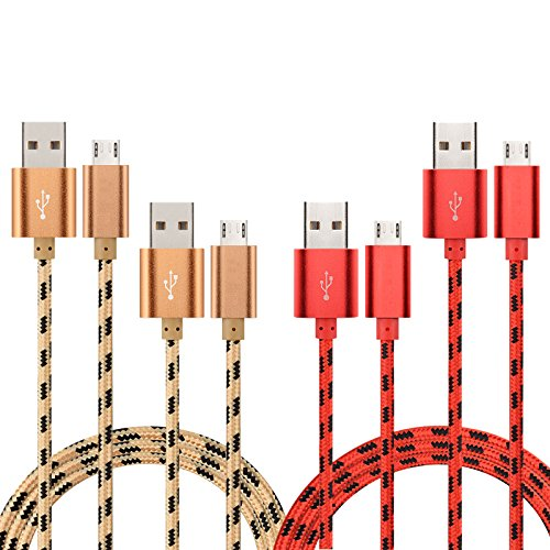 topsell-micro-usb-cable-4pack-33ft-1m-49ft-15m-nylon-braided-high-speed-usb-to-micro-usb-charging-ca