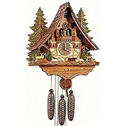 Schneider Cuckoo Clocks Handcrafted Wooden Clock