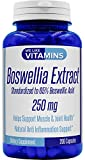 Boswellia Extract 250mg – 200 Capsules – Best Value Boswellia Supplement Standardized to 65% Boswellic Acid on Amazon – Helps Support Joints and Vital Connective Tissues* For Sale