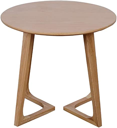 Amazon Com Side Table Solid Wood Lack Small Side Coffee Tables Art Side Coffee Dining End Table Sofa Side End Table Snack Table With Wood Finish Coffee Home Kitchen