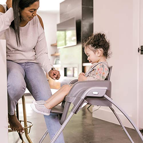 Ingenuity SmartServe 4-in-1 High Chair with Swing Out Tray – Clayton – High Chair, Toddler Chair, and Booster by Ingenuity (Image #7)