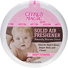 Citrus Magic Baby Solid Air Freshener, Pack of 3, 8-Ounces Each