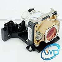 AWO TDPLD1 / TDPLD2 Premium Quality Compatible Bulb Inside Replacement Lamp with Housing for TOSHIBA TDP-D1 TDP-D2