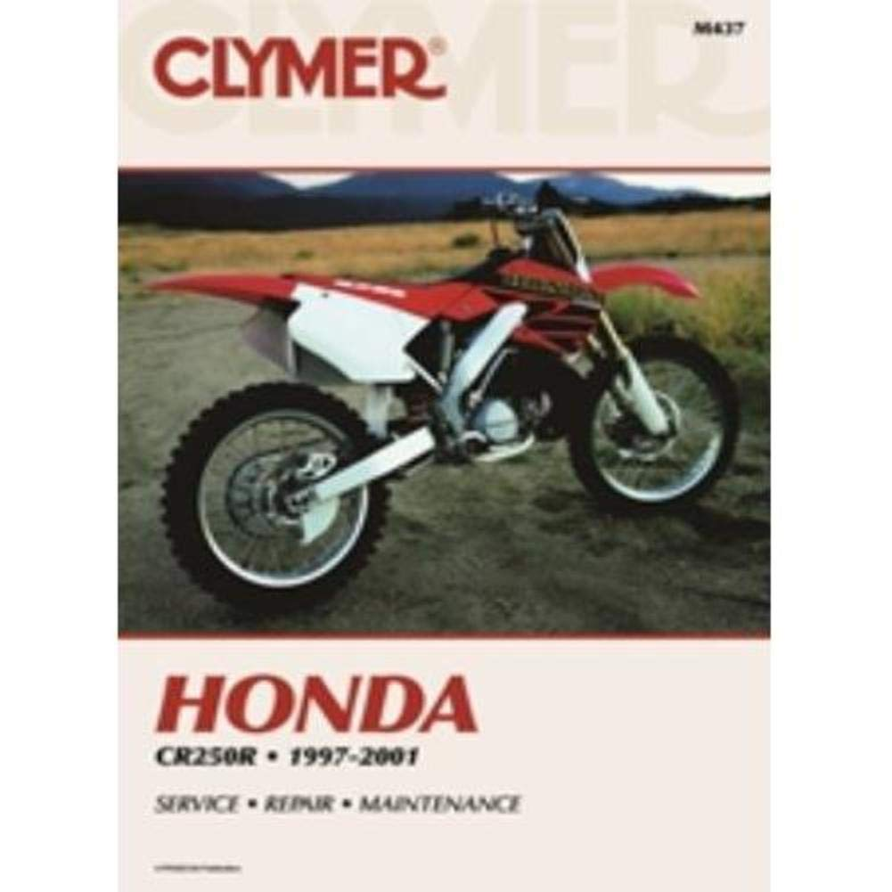 Amazon.com: Clymer Honda CR250R (1997-2001) (53158): No Author: Sports &  Outdoors