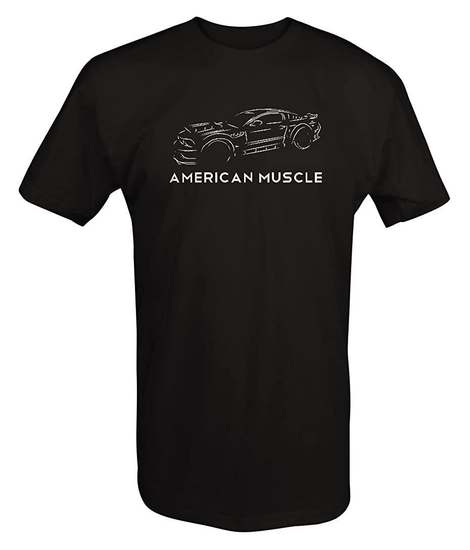 American Muscle Street Racing Ford Mustang Shelby Cobra GT V8 T Shirt