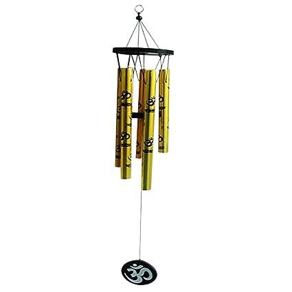 Ratnatraya Feng Shui Om Vastu Five Pipe Wind Chime Amazon Home