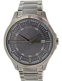 Armani Classic AX2135 Men's Wrist Watches, Grey Dial