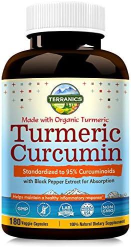 Terranics Standardized Curcuminoids Anti Inflammatory Antioxidant