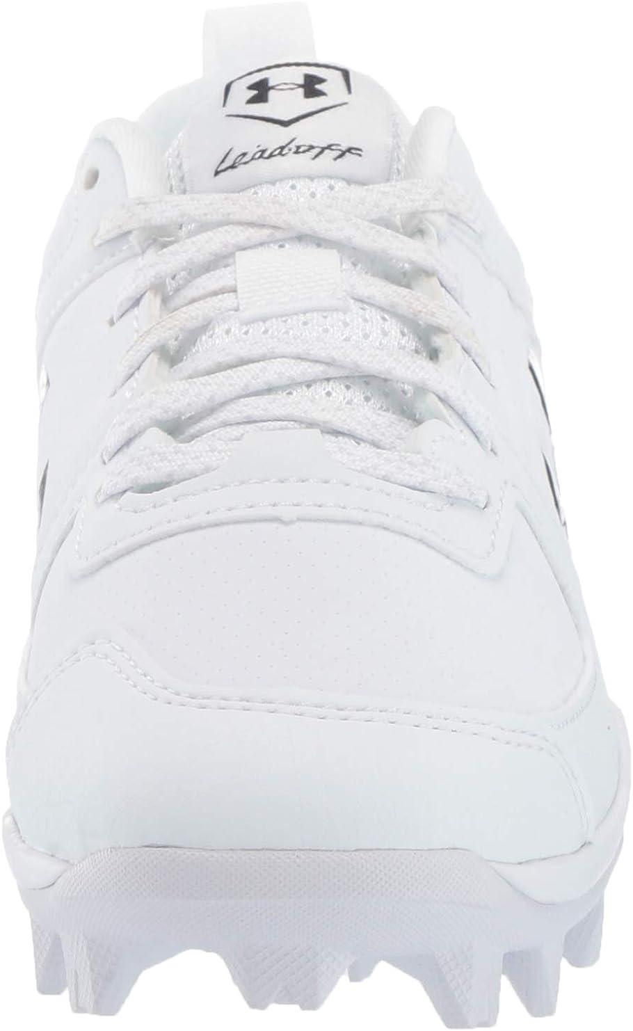 //White Royal 400 1 Little Kid 4-8 Years Baseball Shoe Under Armour Boys Leadoff Low RM Jr