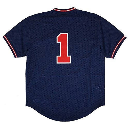 Mitchell & Ness Ozzie Smith Navy St. Louis Cardinals Number Only Authentic Mesh Batting Practice Jersey (M/40)