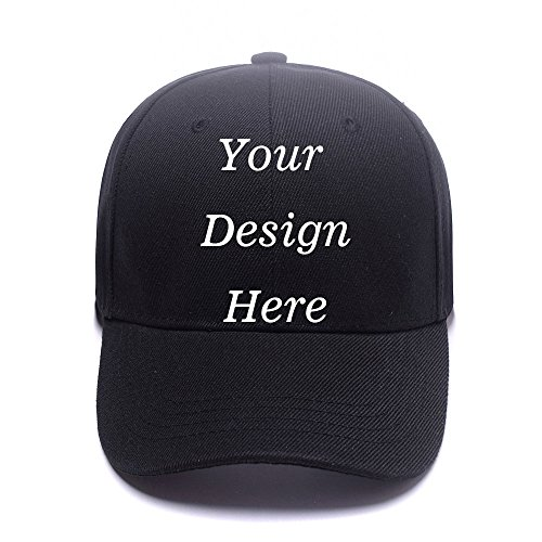 Adjustable Baseball Logo Hat (RR&DDXU Customize Your Own Design Text, Photos, Image Logo Adjustable Hat Hiphop Hat Baseball Cap)
