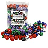 100 Gaming Dice by Monster - Assorted Sizes, Perfect for D&D, Education, Gaming