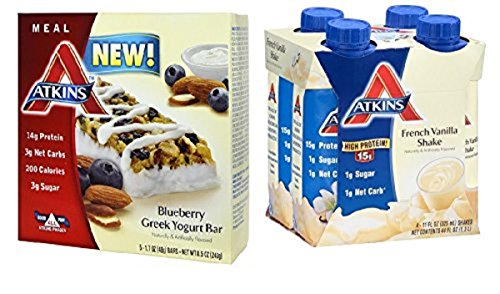 Atkins Weight Loss Value Bundle Ready To Drink Shakes Meal Bars (9)