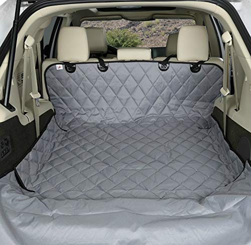 4Knines SUV Cargo Liner for Dogs - Grey Small - USA Based Company
