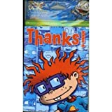 Nickelodeon Rugrats Thank You Cards and Envelopes, Set of 8