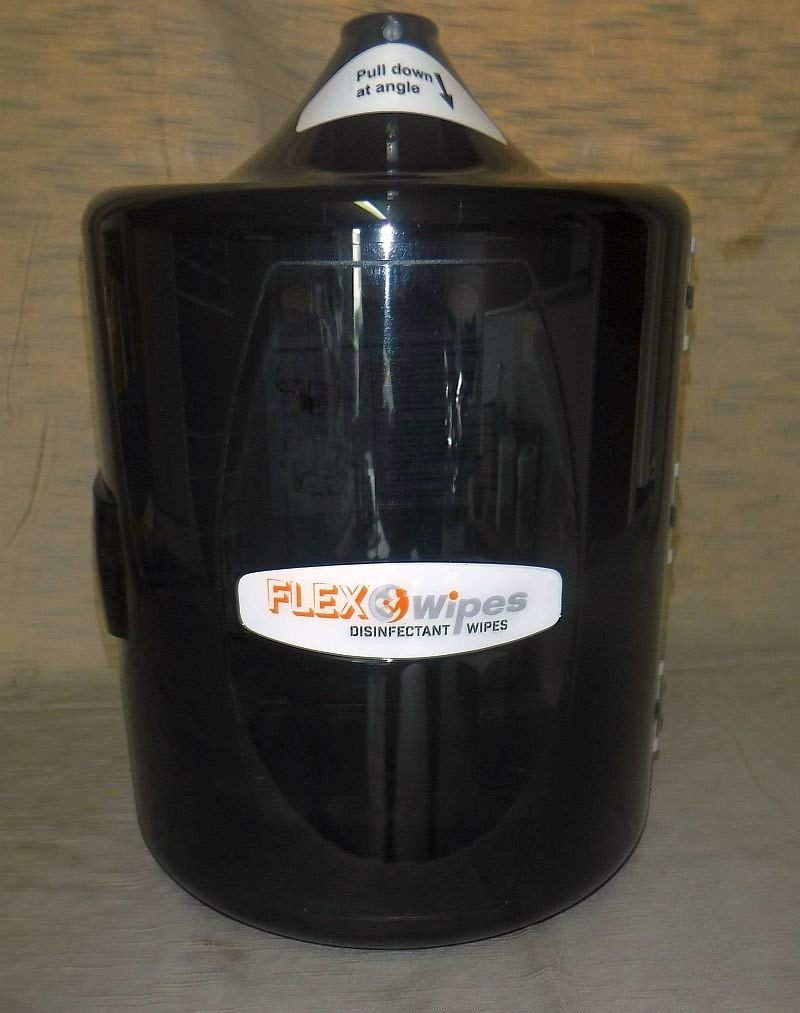 Flex Wipes Wall Dispenser holds 800 plus refills Disinfectant Equipment Gym