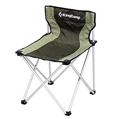 Kingcamp® Compact Large Size Chair - 260LBS, Light Weight, Compact, Aluminum Frame Folding Camping Chair