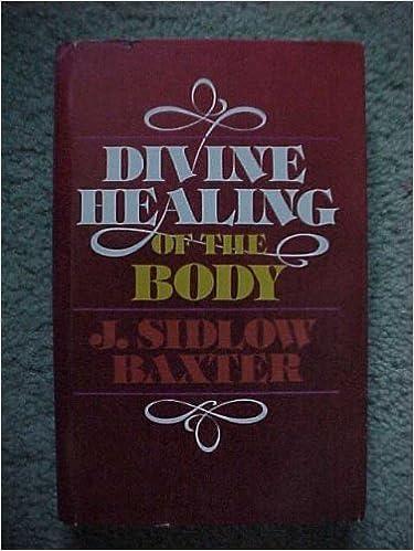 RSC e-Books-kokoelmat Divine Healing of the Body 0310207207 by J Sidlow Baxter Suomeksi PDF PDB