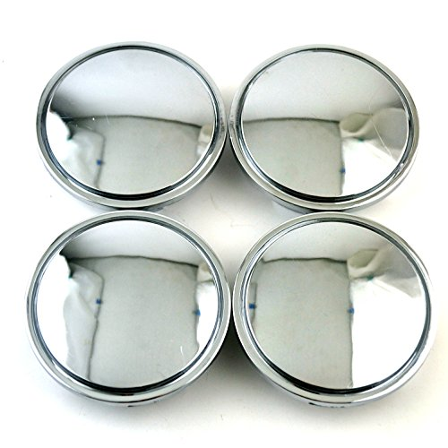 66mm Silver ABS Car Wheel Center Hub Caps Base Set of 4