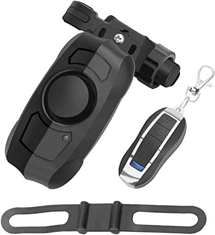 Motorcycle Wireless Remote Control Anti-theft Alarm Lock Bicycle Bike SECURITY