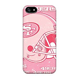 Browncases Premium Protective Hard Case For Iphone 5/5s- Nice Design - San Francisco 49ers
