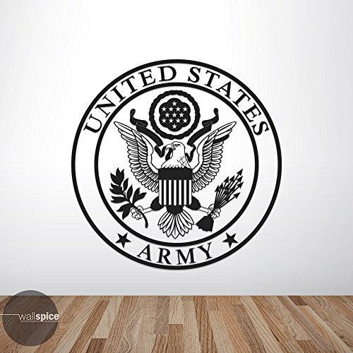 United States US Army Great Seal Vinyl Wall Decal (Army Great Seal)