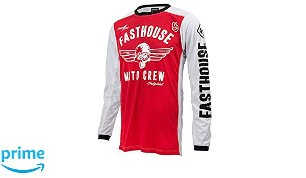 Amazon.com  Fasthouse Original Air Cooled Men s Motocross Motorcycle Jersey  Red X-Large  Automotive 96c304103