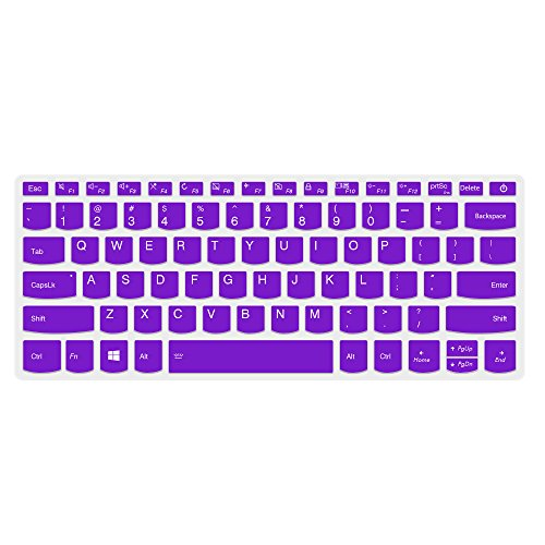 Lapogy Lenovo Yoga 720 15.6 Keyboard Cover Ultra Thin Soft TPU Material Keyboard Protector for 15.6 Lenovo Yoga 720 15 Touchscreen Laptop, Purple