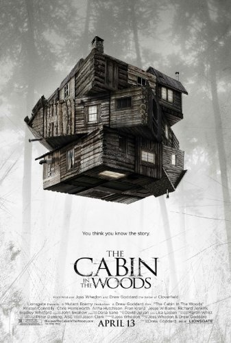 CABIN IN THE WOODS  Original Authentic Movie Poster 27x40 -